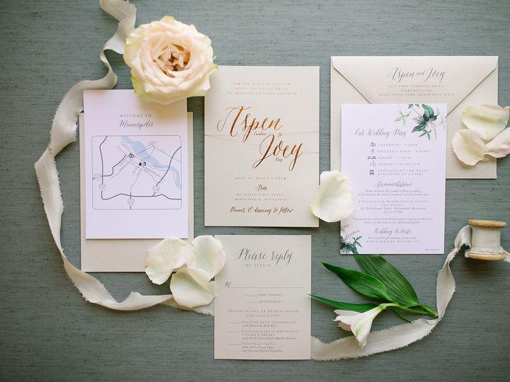 Tmx 1531840818 B194a247c6aa31e1 1531840816 Ebdb1f49dbc75f0e 1531840804488 4 ELP Milestone May  Burnsville, MN wedding invitation