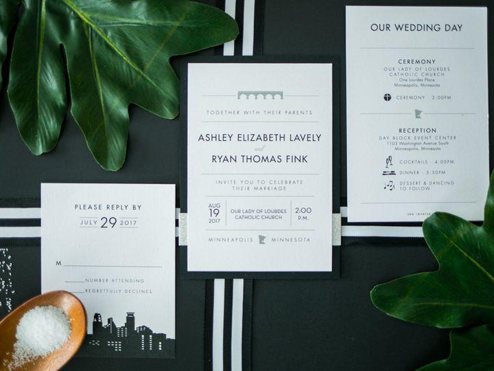 Tmx 1531842232 Cd71405206cae387 1531842187 809fc321b73b82fe 1531842183842 6 3 Burnsville, MN wedding invitation