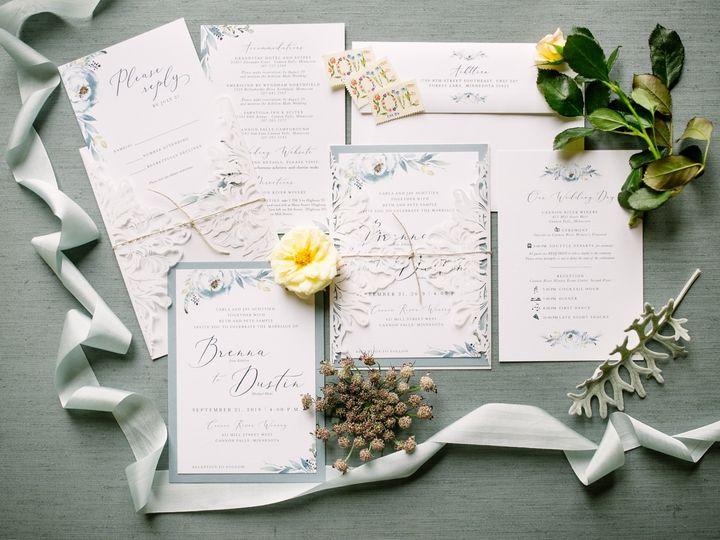 Tmx Bluelasercutinvitation 51 87763 1570825549 Burnsville, MN wedding invitation
