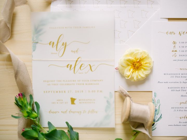Tmx Greeneryinv3 51 87763 1570825547 Burnsville, MN wedding invitation