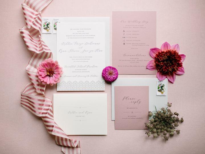 Tmx Letterpressinv 51 87763 1570825548 Burnsville, MN wedding invitation