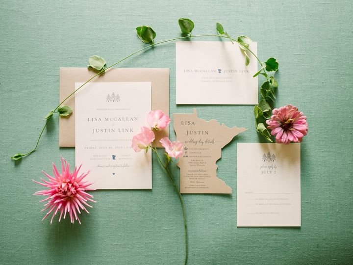 Tmx Upnorthwed 51 87763 1566935403 Burnsville, MN wedding invitation