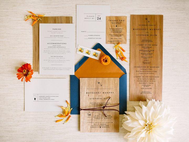 Tmx Woodinv 51 87763 1566935402 Burnsville, MN wedding invitation