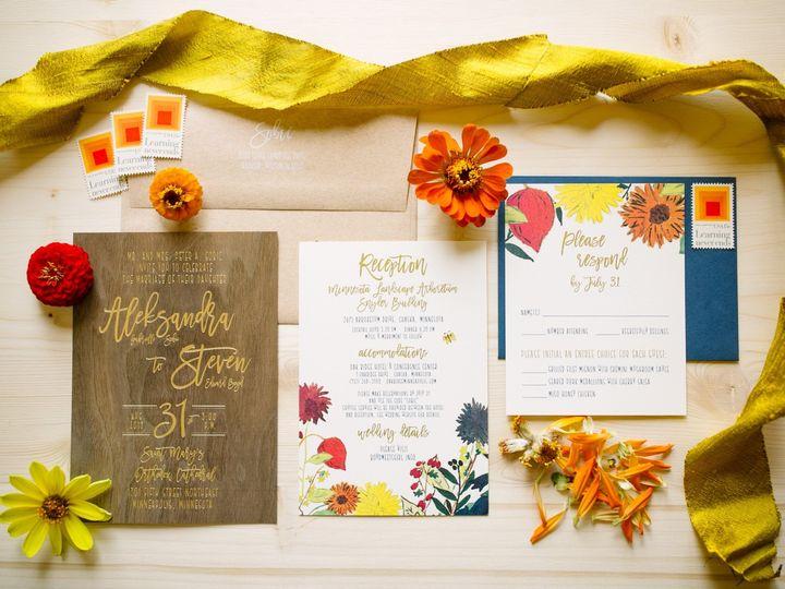 Tmx Woodinvitation 51 87763 1570825549 Burnsville, MN wedding invitation