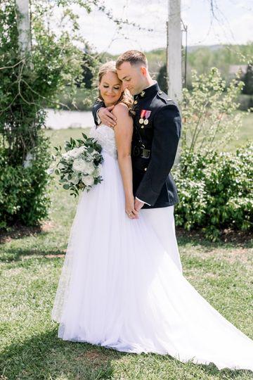 Military newlyweds