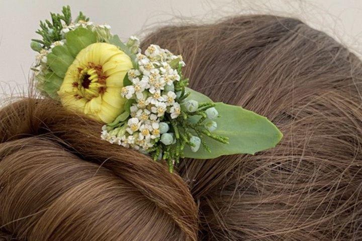 Lovely hair comb