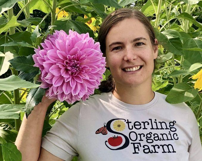 Farmer-florist Zoe Madden