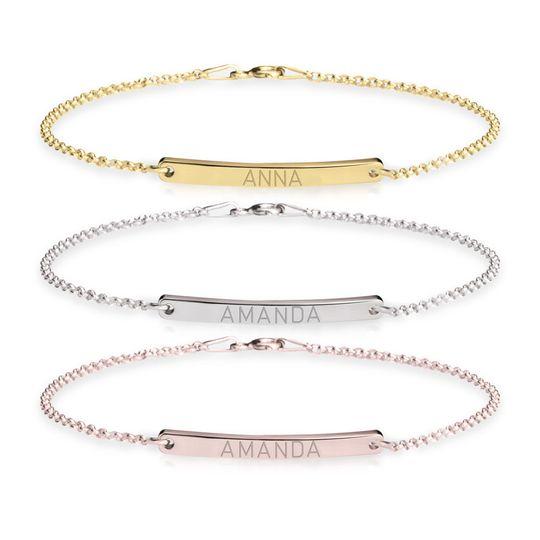 Variety of bracelets