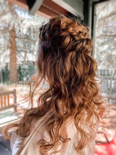 Stunning curls