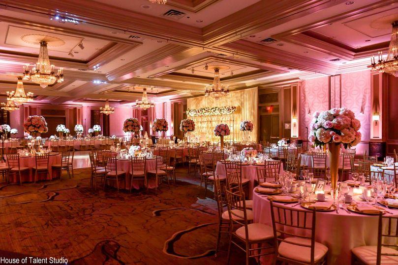 Grand Ballroom set for event