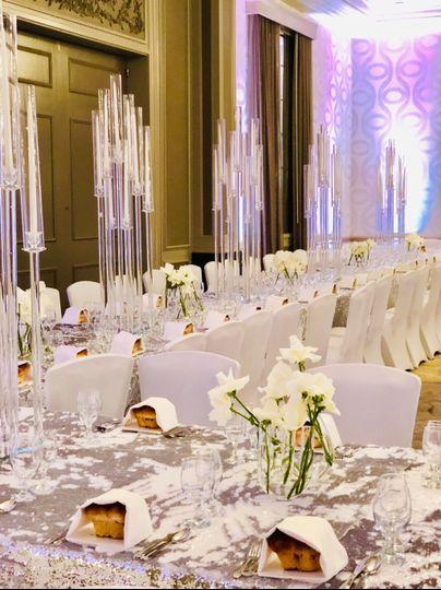 Grand Ballroom long tables