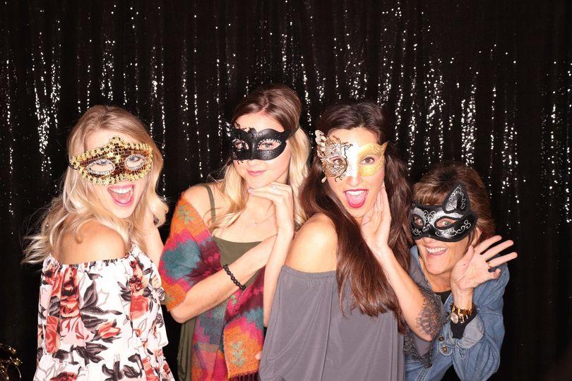 Masked ladies have more fun