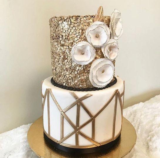 Great Gatsby Themed Cake