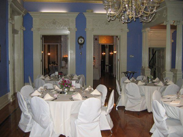 The Mount Hope Mansion ballroom.