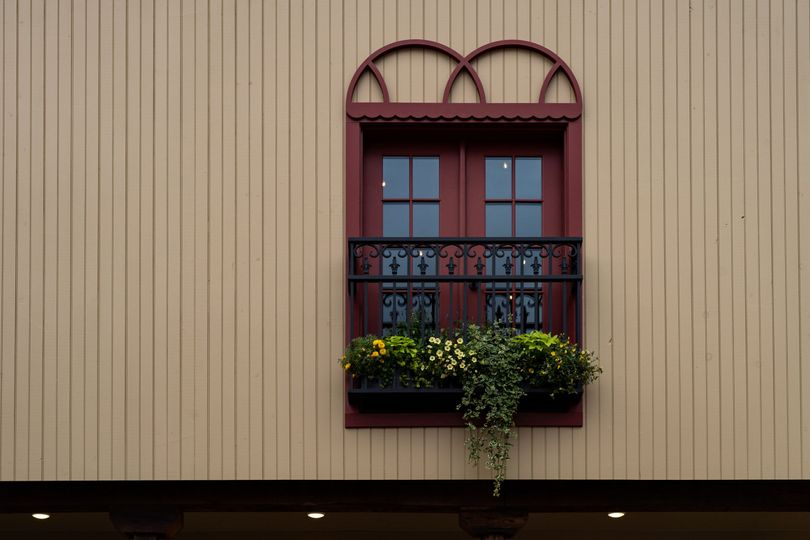 Juliet balconies with