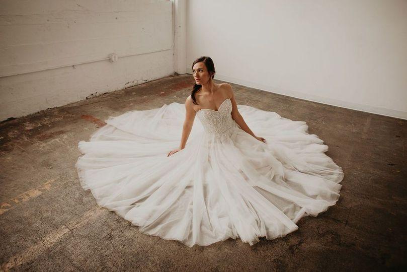 A stunning dress