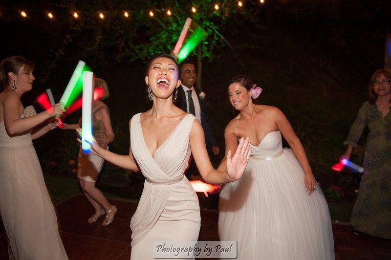 Rave wand fun