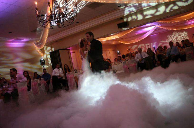 Dancing on a cloud effect