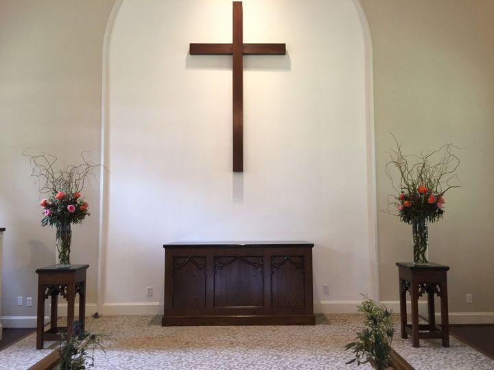 Altar setup