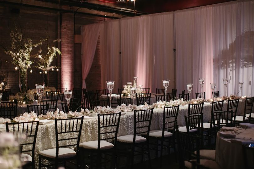 Textured Linen w/ Draping