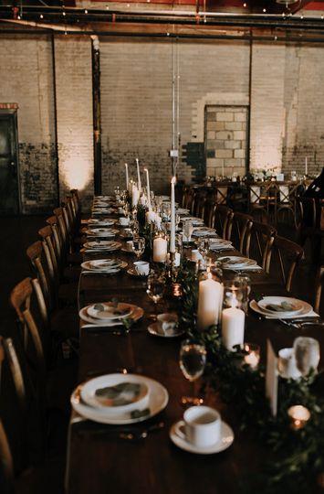 Mahogany Farm Tables