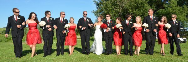 Weddings - Bridal Party Panoramic