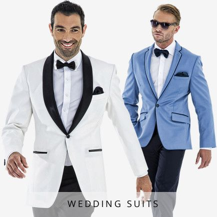 We can custom tailor your wedding suit to match your personal style, wedding theme and size.