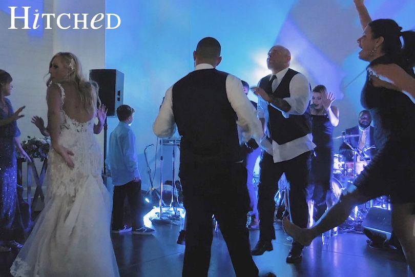 Hitched Wedding Band