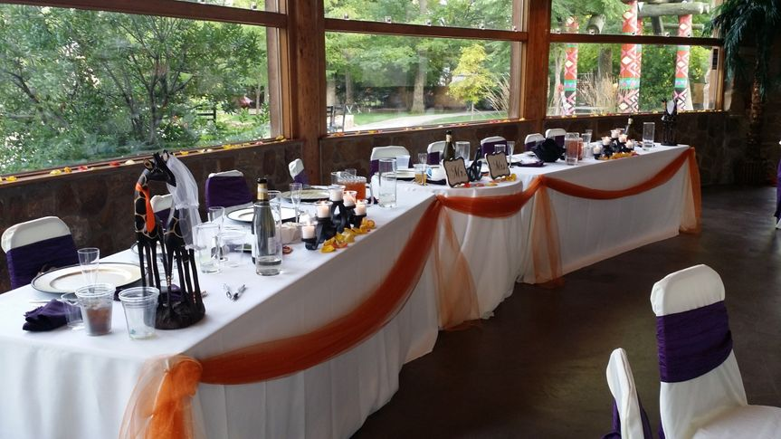 wedding party table 2014