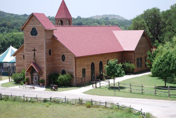 Aerial photograph of Chapel Hall