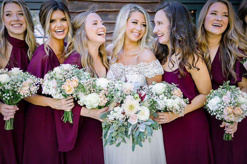 Happy Bride & her Tribe