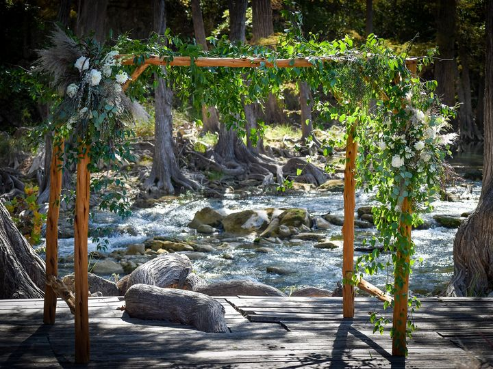 Tmx Wedding Arbor Old Glory Ranch Blanco River 51 166863 160936795697340 Wimberley, TX wedding venue