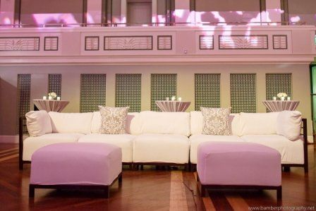 Lounge Seating around Dance Floor