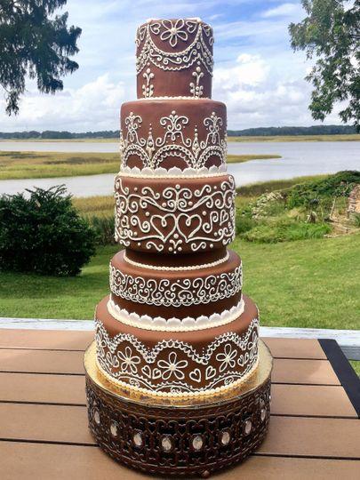 chocolate wedding cake 51 1047863
