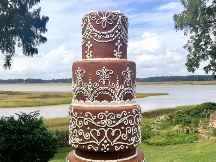 Tmx 955 Chocolate Wedding Cake 51 1047863 Smithfield, VA wedding cake