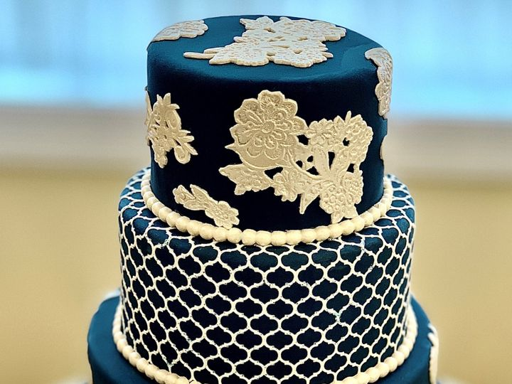 Tmx Blue Lace 51 1047863 157411889176388 Smithfield, VA wedding cake