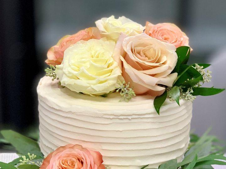 Tmx Blush Roses And Greenery 51 1047863 157411889922641 Smithfield, VA wedding cake