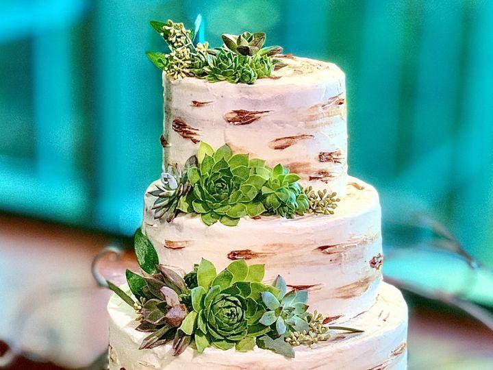 Tmx Live Succulents 51 1047863 157411890868142 Smithfield, VA wedding cake