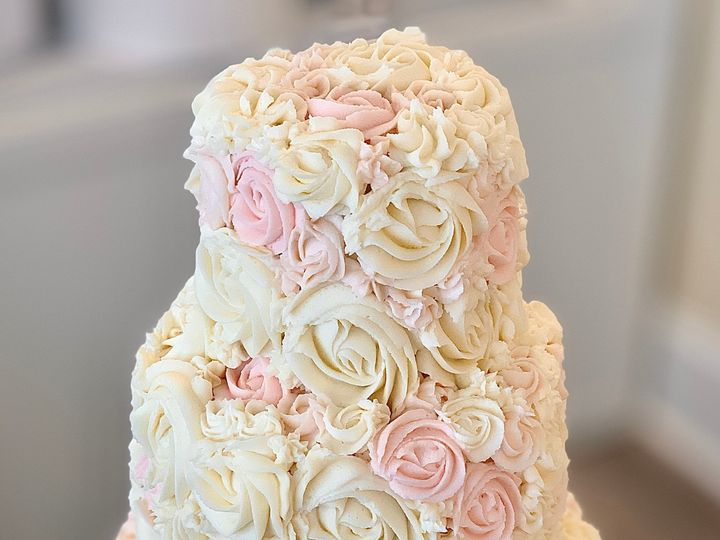 Tmx Rosettes W Pink 51 1047863 157411892392218 Smithfield, VA wedding cake