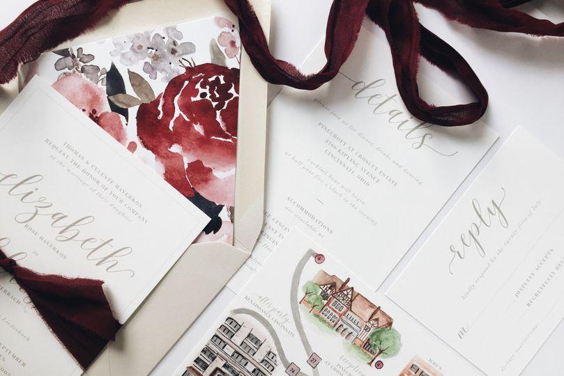 Lisa Cron Design - Invitations - Cincinnati, OH - WeddingWire
