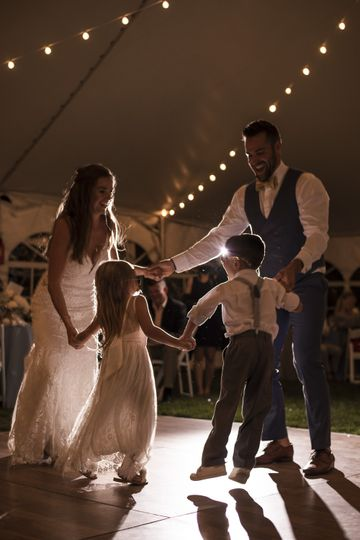 Dancing with family
