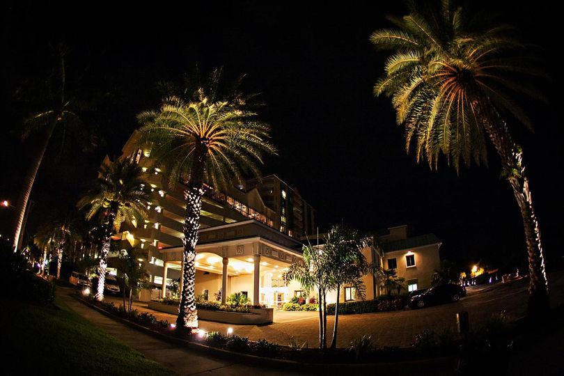 lbr hotel at night