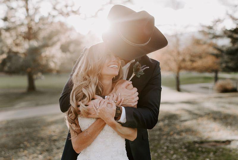 Fall wedding beauty