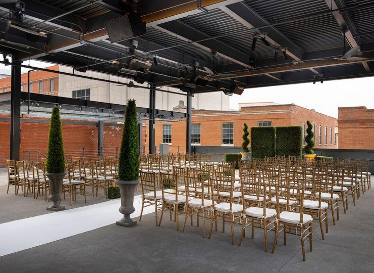 Hotel Distil Event Terrace