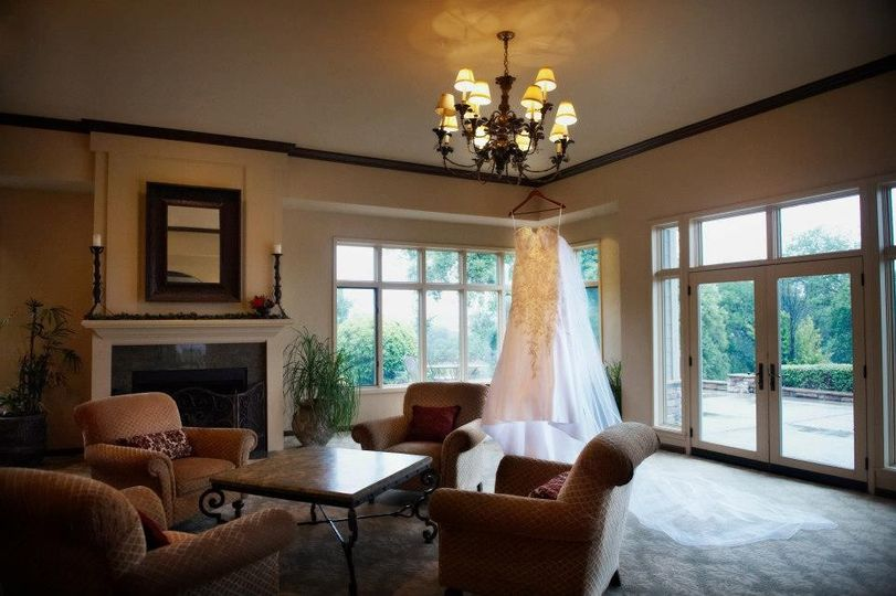 Bridal Retreat to primp and prep in before the wedding.