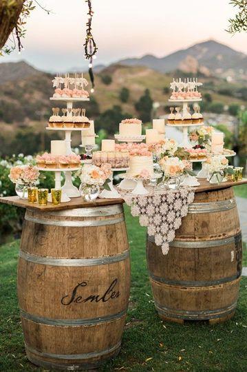 71765ec73851a756332c149a1814c0e3 wedding dessert