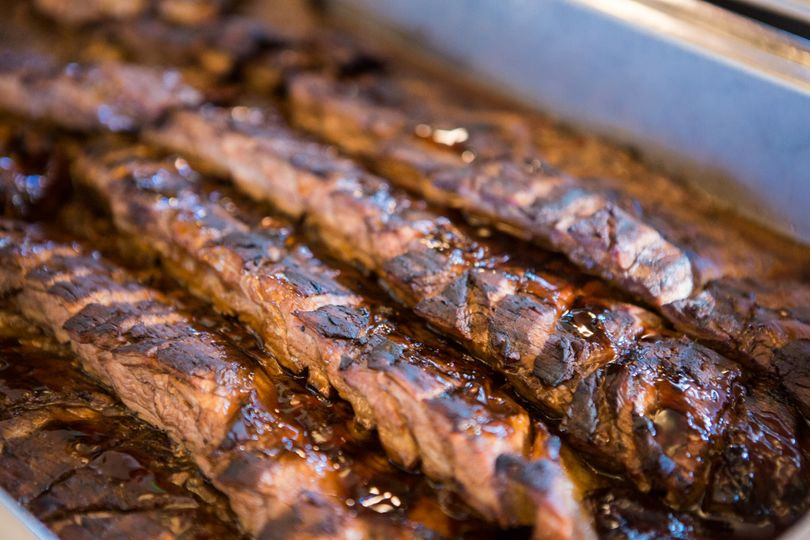 Fire-Grilled Flank Steak