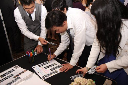 When you choose our Photo Guestbook, the attendant will place a copy of your guest's photo into your...
