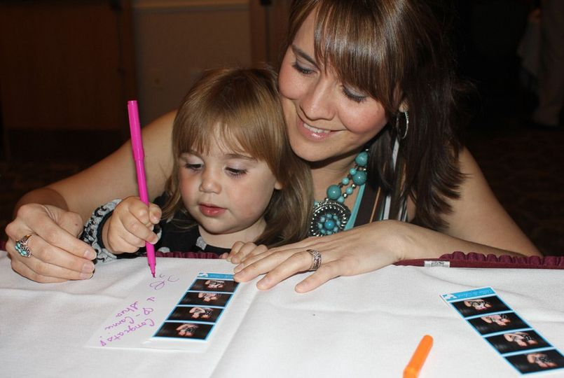 Our Photo Guestbook allows your guests to sign and leave you messages alongside their photos. We...