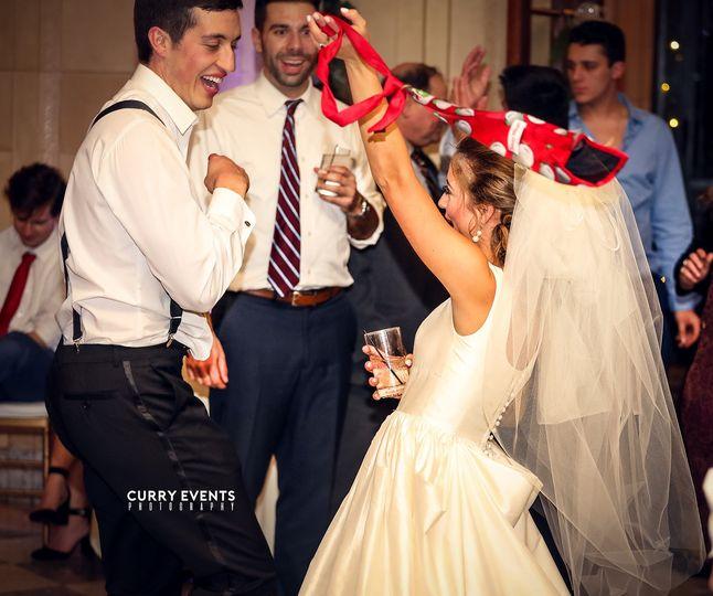Bride and Groom with DJ Blake
